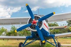 mały samolot śmigła zdjęcie royalty free