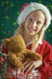 Mały Santa obraz royalty free