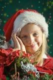 Mały Santa obrazy stock