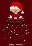 Mały Santa Claus ilustracja wektor