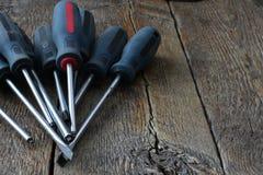 Mały set śrubokręty Fotografia Royalty Free