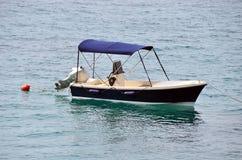 mały silnikowe łodzi Zdjęcie Royalty Free