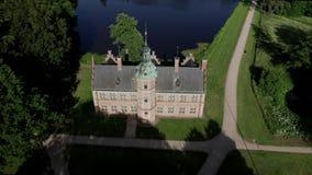 Mały skąpanie dom przy Frederiksborg pałac, Dani zbiory