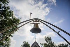 Mały Stary kościół chrześcijański Zdjęcie Royalty Free