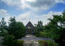 Mały Stary kościół chrześcijański Fotografia Royalty Free