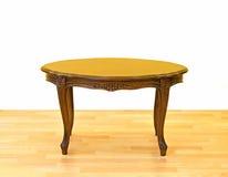 mały stołowy drewniany Obrazy Royalty Free