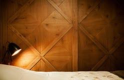 mały sypialni wnętrze obraz stock
