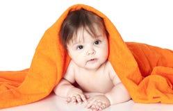 Mały szczęśliwy dziecko Obraz Royalty Free
