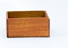 Mały szkatuły drewno Fotografia Stock