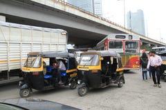 Mały taxi w India zdjęcie royalty free