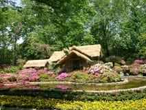 Mały trawa dom zdjęcia royalty free