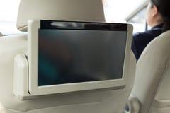 Mały tv dowodzony przenośny wnętrze Zdjęcie Royalty Free