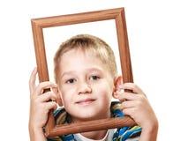 Mały uśmiechnięty chłopiec dziecka portret Fotografia Royalty Free