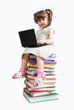 mały użytkownik komputeru Zdjęcie Stock