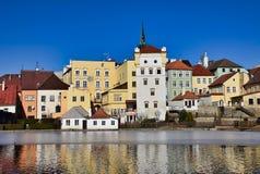 Mały Vajgar i historyczni budynki zdjęcia royalty free