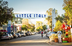 Mały Włochy, San Diego, Kalifornia Zdjęcie Royalty Free