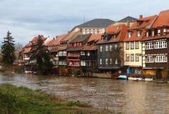 Mały Wenecja przy Bamberg fotografia royalty free