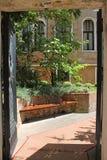 Mały Wenecki podwórze w Wenecja Włochy fotografia stock