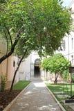 Mały Wenecki podwórze w Wenecja Włochy obrazy stock