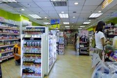 Mały wydziałowy sklep Zdjęcie Royalty Free