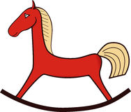 Mały Zabawkarski koń Obrazy Stock
