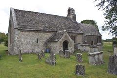 mały zasadzony kościelny gloucestershire Zdjęcia Stock