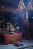 ma在澳门澳门瓷的中国寺庙 免版税图库摄影