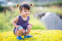 Mała azjatykcia dziewczyna Obrazy Stock