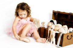 Mała balerina Zdjęcie Royalty Free
