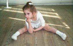 mała balerina Fotografia Stock