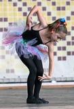 Mała balerina 4 Fotografia Royalty Free