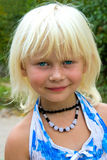mała blondynki dziewczyna fotografia stock