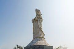Ma bogini cyny lub statuy hau w coloane wyspy Macau porcelanie Obraz Stock