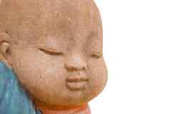 mała Buddha twarz Fotografia Royalty Free
