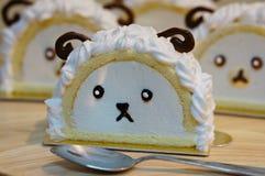Mała cakla torta rolka Fotografia Stock