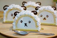 Mała cakla torta rolka Zdjęcia Stock
