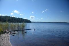 MA¶ckelnn湖在瑞典 库存照片