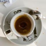 Ma cuvette de café Photographie stock libre de droits