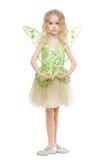 Mała czarodziejska dziewczyna Obrazy Royalty Free