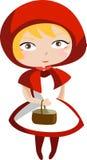 mała czerwona jazda hood Obraz Royalty Free