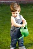 mała dziecko ogrodniczka Zdjęcie Royalty Free