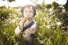 Mała dziewczynka. Fotografia Royalty Free