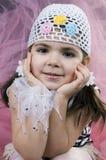 mała dziewczynka kokietki Fotografia Stock
