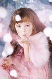 Mała dziewczynka na wakacjach Fotografia Royalty Free
