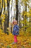 Mała Dziewczynka Outdoors Obraz Royalty Free