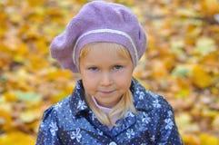 Mała Dziewczynka Outdoors Fotografia Royalty Free