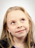 Mała dziewczynka portret Obrazy Royalty Free