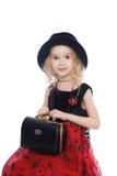 Mała dziewczynka portret Zdjęcia Royalty Free