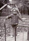 Mała dziewczynka rocznik fotografia Zdjęcia Stock