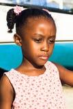 Mała dziewczynka skierowywa spokój Zdjęcia Royalty Free